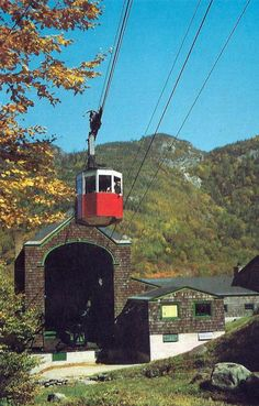 Aerial Tramway, Franconia Notch, New Hampshire