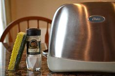 When your toaster gets all sticky and gunky...   37 Deep Cleaning Tips Every Obsessive Clean Freak Should Know