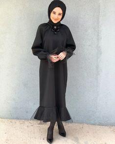 Hijab Abaya, Hijab Dress, Muslim Dress, Abaya Fashion, Muslim Fashion, Modest Fashion, Modest Dresses, Elegant Dresses, Hijab Mode