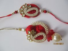 Handmade couple/ Bhaiya Bhabhi rakhi/ Raksha Bandhan