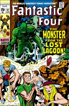 Fantastic Four #97 - The Monster From The Lost Lagoon