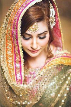 Bride Hairstyles, Pakistani Bridal Hairstyles, Pakistani Bridal Makeup, Pakistani Wedding Outfits, Bridal