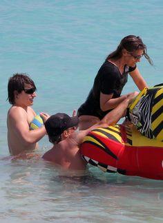 "Jon Bon Jovi Photo - Jon Bon Jovi Hits The Beach With His Family. Jon, Jesse and Dorothea. ""Dot"" to her friends and family."