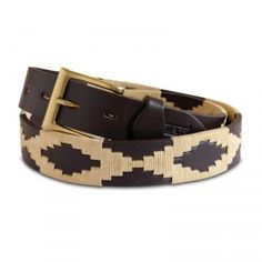 Cheer up your chinos and jazz up your jeans with a present from Gaucho Belts.