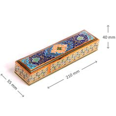 If you are looking for a luxury handcrafted pencil case to give an attractive view to your table, this handmade Khatam pencil case is the right choice for you. price : £45, free shipping