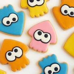 Splatoon Cookies ifeelcook.es/...