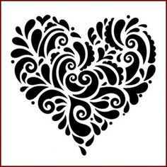 Swirly Heart