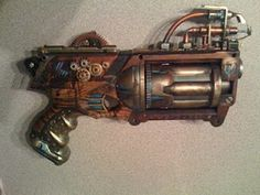 Steam punk nerf gun!  (bought one for Jake a few Christmases ago and he loved it)