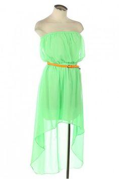 Bright summer dress Last one for tonight good night! Love ya'll!!!