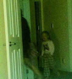 Head in the doorway