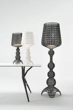 Outdoor by Kartell Diy Floor Lamp, Decorative Floor Lamps, Arc Floor Lamps, Black Floor Lamp, Modern Floor Lamps, Cool Floor Lamps, Chandeliers, Deco Baroque, Modern Lighting Design