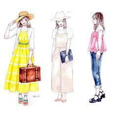 並べてみました 書店でどこにあるかわからないとお声頂くのですが基本的にファッションコーナーにあると思いますお取り寄せなども出来るはずなので見つからなかったら店員さんにお声掛けください。重版分は10月中旬頃から入荷するそうです。 【Amazon】 https://www.amazon.co.jp/dp/4046014318/ My fashion illustration book will be released at the end of September #FASHIONGIRLS #miyaFASHIONGIRLS #イラスト #illustration #ファッション #Fashion #水彩 #watercolor #miyamaayumi #ミヤマアユミ