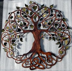 Hey, I found this really awesome Etsy listing at http://www.etsy.com/listing/177306206/tree-of-life-infinity-tree-wall-decor