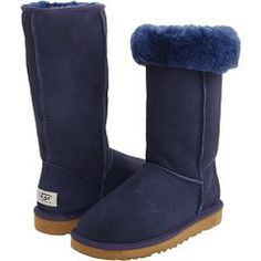 Navy Tall Uggs