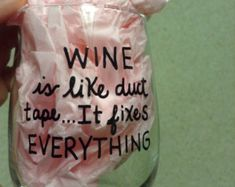 Sassy Saying wine glasses . Great gifts for your friends. Fun glasses for parties or Girl's nights.