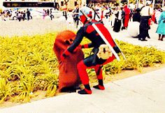 One time he found a Diglett. | This Guy Who Cosplays As Deadpool Every Year Is Almost As Funny As Ryan...