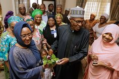 President Buhari being welcomed by his wife Aisha, daughter Zahra and other family members shortly after he arrived in State House after a medical vacation in London on 10th March 2017  NgospelMedia Team Use This Medium to Welcome Our Beloved President, Buharito Our Mother Land Nigeria,   #African News Updates #Buhari #Nigerian Federal Government #Nigerian News Updates #President Buhari
