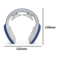 """This smart neck massager heats up in seconds to mimic warm human hands and deliver """"life-like"""" therapy for neck soreness, shoulder discomfort, and body tension. Use it daily to get soothing relief from ... ✓ Neck pain and stiffness ✓ Shoulder discomfort ✓ Cervical pain ✓ Body tension I absolutely love the neck massager! """"For years I had to go to the Chiropractor for neck and back pain when I found this I tell you, """"no more chiropractor bills!"""" With the heat, intensity and the fact it… Massage Dos, Hand Massage, Neck Massage, Circulation Sanguine, Improve Blood Circulation, Acupuncture, Ballon Pilates, Sore Neck Muscles, Collier Cervical"""