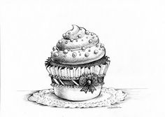 Cupcake by MadeleineInk - Google Search