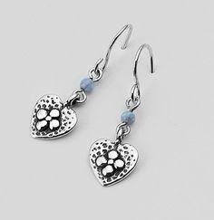 SHABLOOL Jewelry Blue Fire Opal Sterling Silver 925 Earrings