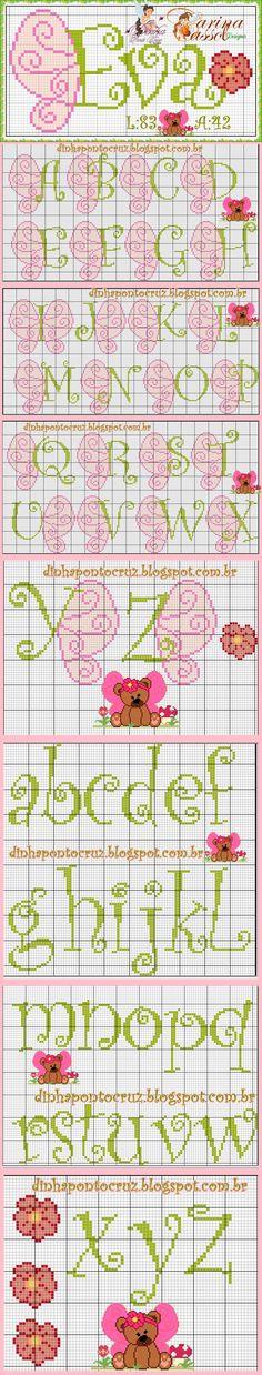 Alfabeto farfalla