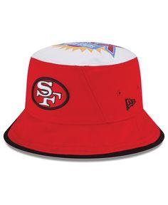 New Era San Francisco 49ers Traveler Bucket Hat Hat Men 929244948726