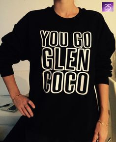 Welcome to Stupid Style shop :)    For sale we have these great You go Glen Coco sweatshirt!    Very popular on sites like Tumblr and blogs!    With