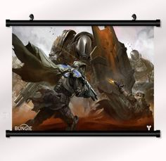 Destiny-Game-Fabric-poster-with-wall-scroll-22-x-16