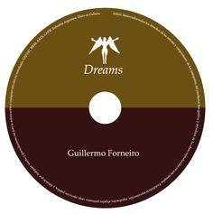 Dreams, de Guillermo Forneiro. CD toast. Diseño y realización Carlos Carpintero.