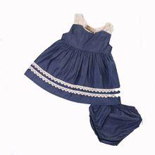 0-18 m 2 unids verano niño niños baby girls lace tutu vestido sin mangas de  princesa dress del partido del desfile de vestidos para la playa ba4f91005f0
