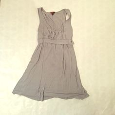 """Gray Dress Simple and comfy dress. Mid thigh length - I am 5'4"""" for reference 