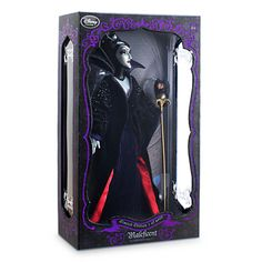 Limited Edition Maleficent Doll - Sleeping Beauty - 17'' - 4000 dolls produced worldwide (own)