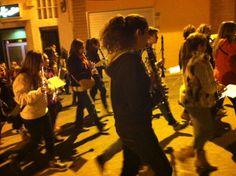 Cercavila de la Banda Jove dirigida per Salva García Bataller (22-11-2013)