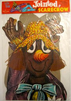 """Vintage Beistle """"Jointed Scarecrow"""""""