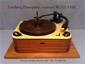 Tandberg - Garrard Record Changer  RC 121 - 4 H N - Year made 1956 - 1961 (Tandberg Logo in front)