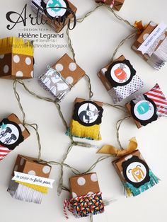 Stamp 2 LiNotte: My tiny treat boxes are lights ;)))) - Stampin'Up ! Artisan - Hélène Legrand - Blog Hop - Septembre # 3