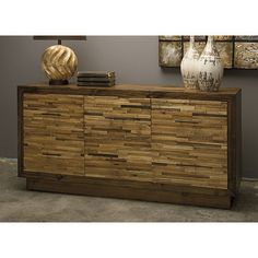 "Reclaimed Wood Dresser - Industrial Chic Collection - Dot & Bo  63"" W x 15.75"" D x 29.75"" H"