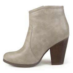 Journee Collection Jolie ... Women's High Heel Ankle Boots 7RM6QP