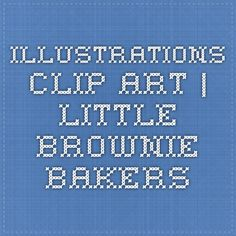 Illustrations Clip Art | Little Brownie Bakers