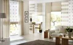 Curtains, sun protection, pleated blinds – livingreet: modern from unland international gmbh, modern Drapes And Blinds, Shades Blinds, Diy Curtains, Panel Curtains, Window Coverings, Window Treatments, Design Your Dream House, House Design, Window Design