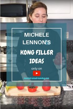 Kong Filler Ideas // Want great Kong recipes and Kong Stuffing ideas? In this video, I'll share my top Kong fillers and frozen kong recipes. Using a Kong with a dog that chews or a teething puppy can help soothe sore puppy gums. Homemade Dog Treats, Pet Treats, Puppy Starter Kit, Dog Accesories, Dog Nutrition, Dog Cakes, Training Your Puppy, Dog Biscuits, Dog Treat Recipes