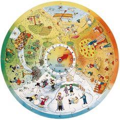 XXL Lernpuzzle - 4 Jahreszeiten | noch mehr Puzzle | Puzzle | Sinnesförderung | Krippe & Kindergarten | Wehrfritz Deutschland