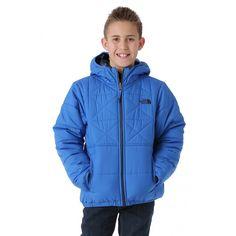 5cbb1a022243 The North Face Boys Reversible Perrito Jacket - WinterKids.com Insulation