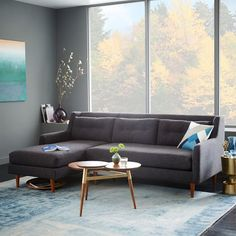 west elm's modern furniture sale helps make decorating easy. Save on a wide range of home decor and home furnishings. Modern Home Furniture, Interior Modern, Furniture Sale, Condo Furniture, Furniture Shopping, Lounge Furniture, Interior Design, Antique Coffee Tables, Walnut Coffee Table