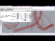 Parametric Square Section Truss | Grasshopper - YouTube
