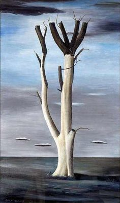 Tree at Aledo, 1938 by Gertrude Abercrombie #womensart