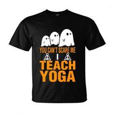 Halloween You Cant Scare Me I Teach Yoga - Ultra-Cotton T-Shirt