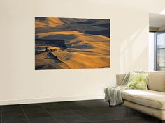 Wheat Fields, Palouse Region, Washington State, USA Wall Mural by Walter Bibikow at AllPosters.com
