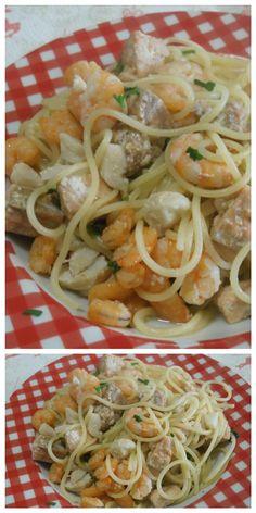 Spaghetti al mesce misto, la ricetta per super primo piatto! #spaghetti #pesce #ricettegustose