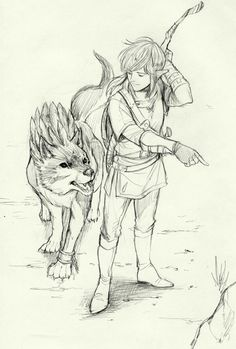 The Legend of Zelda   Breath of the Wild   Link and Wolf Link